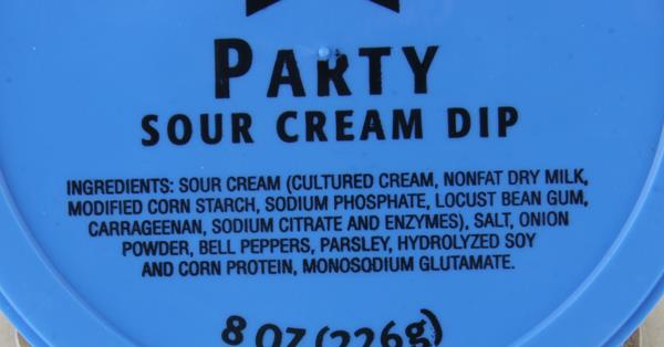 AE Party Sour Cream Dip