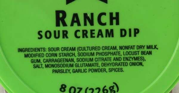 AE Ranch Sour Cream Dip