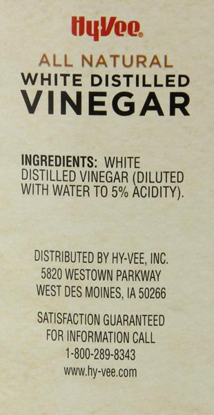 Hy-Vee White Distilled Vinegar